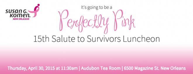 Perfectly Pink Survivor Luncheon UPDATE